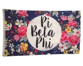 Pi Beta Phi Floral Flag 3' x 5'
