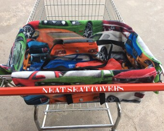 Shopping Cart Seat Cover, Ford Mustangs