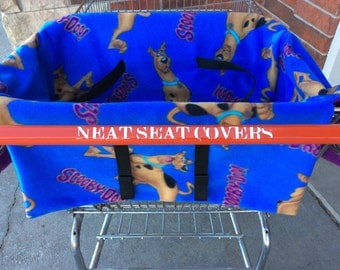 Shopping Cart Seat Cover, Scooby Doo