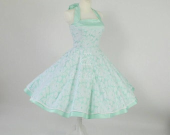 Festive petticoat dress, petticoat dress, Rockabilly dress, bridesmaids dress, wedding dress, wedding dress, dress in mint, prom dress