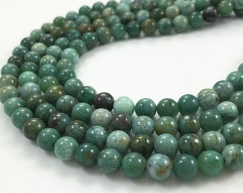 One Full Strand 6mm Australian Jasper  Round Beads , Jasper Stone ,Semi Precious Gemstone ,