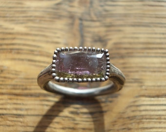 Watermelon Turmalin Ring *Gr.52*