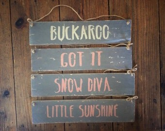 Shabby Chic This! Custom Personalised  Wooden Sign