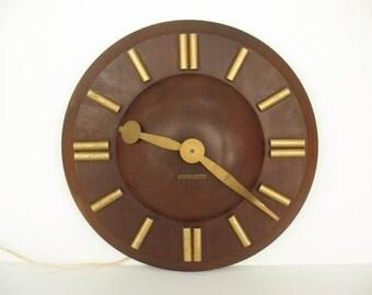 Mid century clock | Etsy