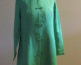 Vintage Silk Chinese Coat