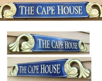 Hand Carved Quarterboards (name boards)