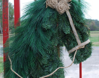 Wire Form Add-on ONLY for Horse Wreaths
