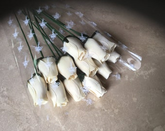 Wood Rose Bouquet