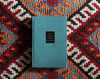 Henri Bergson's Creative Evolution // vintage book // 1944 The Modern Library New York // L'Évolution créatrice