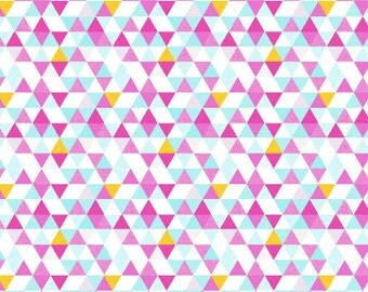 Nursing Pillow Cover Watercolor Triangles. Nursing Pillow. Nursing Pillow Cover. Minky Nursing Pillow Cover. Aqua Nursing Pillow Cover.