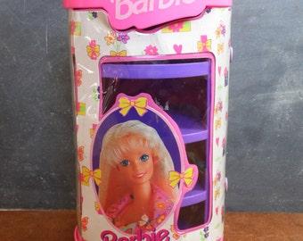 Barbie Case, Doll Case, 90s Barbie Carrying Case, Doll Carrier,Mattel, Barbie, Vintage Barbie,  Accessory Holder, Accessory Organizer