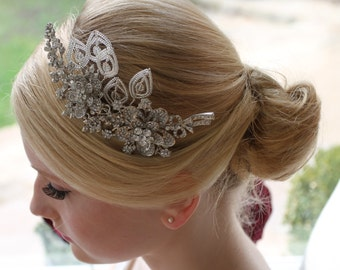 BRIDAL HEADPIECE / Tiara / Headband - BELLA