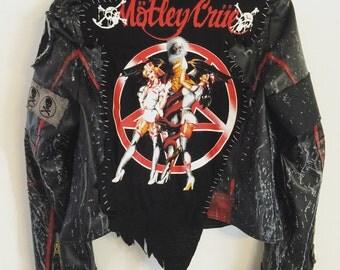 Crüe black jacket by Chad Cherry