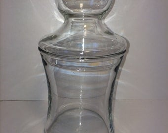 Glass Jar with Bubble/Bulb Lid