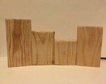 Unfinished Wood Blocks - DIY - Wood Blocks - Unfinished
