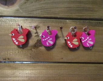 Knit Stitch Markers (set of 4)