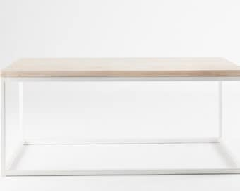 Parker Coffee Table - White Washed Ash