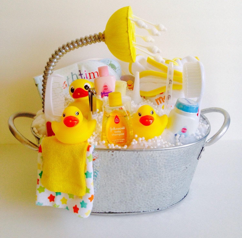 Bath Tub Diaper Cake Unisex Baby Gift By Abuncreation On Etsy