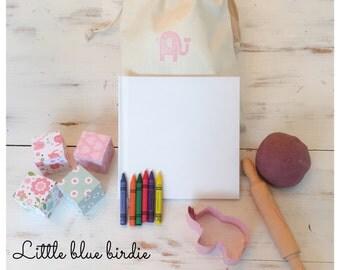 Toddler Girl Busy Bag, Activity Bag, Toddler Toy