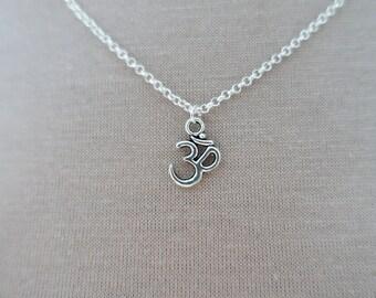 Silver Ohm Necklace Pendant