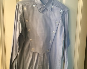 Vintage Men's Bib Western Shirt size small