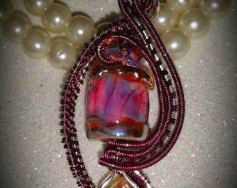 Pink Glow Pendant