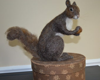 OOAK Needle Felted Squirrel