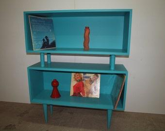 Lowboy Mid Century Bookcase