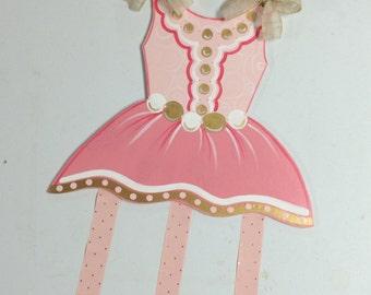 Pretty N Pink Bow Holder