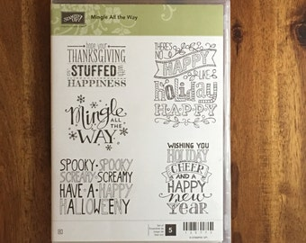 Stampin' UP! Mingle All The Way - FREE SHIPPING!