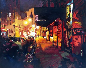Painting: Lower East Side