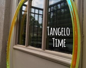 Tangelo Time * Custom Polypro Hoop