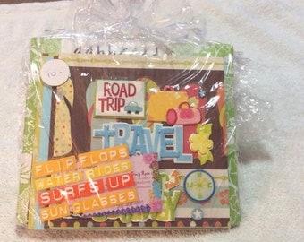 Small Scrapbook Kit - Vacation