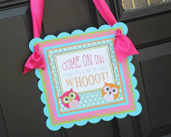 OWL BIRTHDAY DECORATIONS Girl Owl Party Owl birthday party Owl