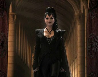 Coat Evil Queen Once Upon A time