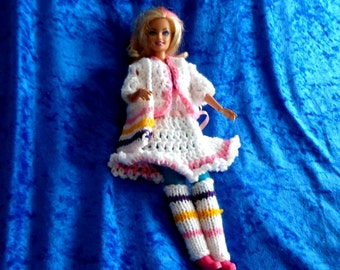 BARBIE DOLLS DRESS and bolero.