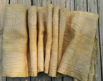 hand woven hemp fabric by the meter