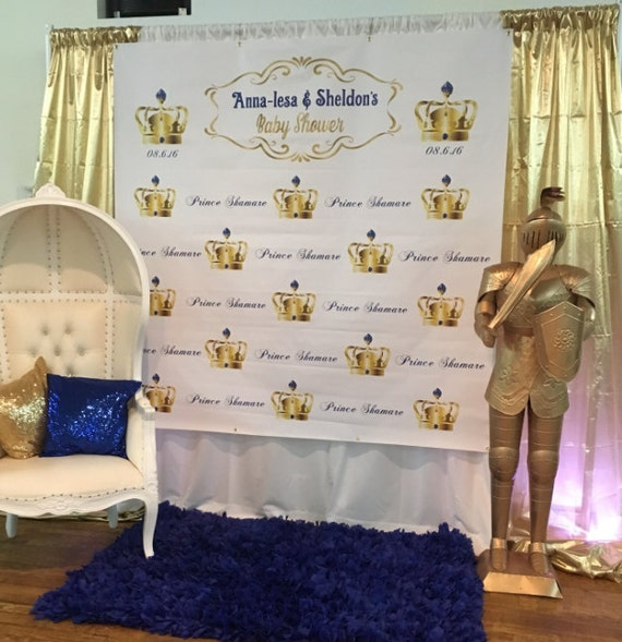 royal backdrop prince party large vinyl backdrop for baby