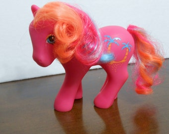 Vintage My Little Pony Pina Colada G1 Tropical earth Pony