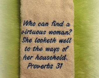 Virtuous Woman Towel