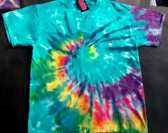 Pinwheel Spiral Tie Dye Shirt