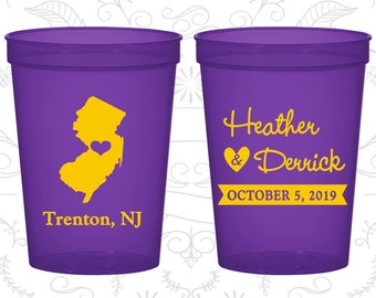 New Jersey Wedding Cups, New Jersey Stadium Cups, New Jersey Plastic Cups, New Jersey Cups, New Jersey Party Cups (129)