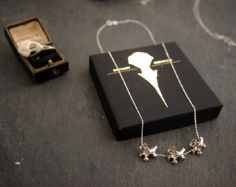 Triple Articulating Vertebrae Necklace