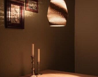 Cardboard lampshade, n2, type a