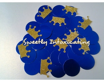 Royal Prince Party Decorations. Ships in 3-5 Business Days. Crown Confetti 50CT.