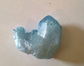 Aqua aura quartz #5