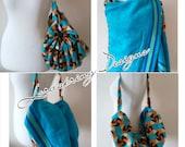 Convertible Beach Bag TowelBeach BagTowel Cotton Bag Soft Bag Soft Towel Beach Towel  Hobo Beach Bag Hobo Bag Swimmers Towel Bag