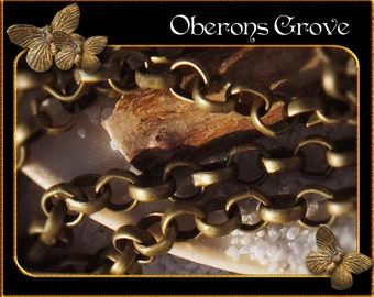 5m Rolo chain bronze 4mm links