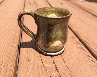 Stoneware Pottery Ceramic Mug, Espresso, coffee, tea