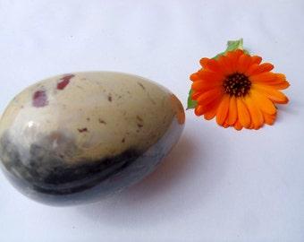 Stone Yoni egg natural stone decorative egg Semi-precious egg Smooth polished